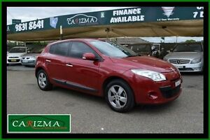 2012 Renault Megane X32 Dynamique Red 6 Speed Manual Hatchback Toongabbie Parramatta Area Preview