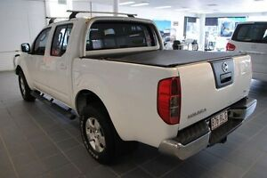 2011 Nissan Navara D40 ST White 5 Speed Automatic Utility Townsville Townsville City Preview