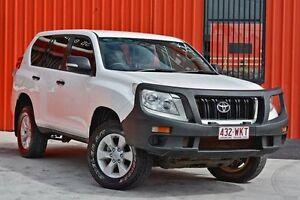 2012 Toyota Landcruiser Prado KDJ150R GX White 5 Speed Sports Automatic Wagon Molendinar Gold Coast City Preview