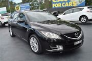 2008 Mazda 6 GH1051 Classic Black Sports Automatic Wagon Campbelltown Campbelltown Area Preview