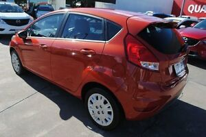 2013 Ford Fiesta WZ Ambiente Orange 5 Speed Manual Hatchback Townsville Townsville City Preview
