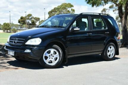 2003 Mercedes-Benz ML270 CDI W163 MY2002 Classic Black 5 Speed Sports Automatic Wagon Brighton Holdfast Bay Preview