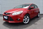 2012 Ford Focus LW MKII Trend PwrShift Red 6 Speed Sports Automatic Dual Clutch Hatchback Epping Whittlesea Area Preview