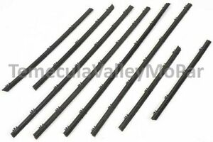 Beltline Window Sweeper Set for 1963-1966 Dart & Valiant Convertibles