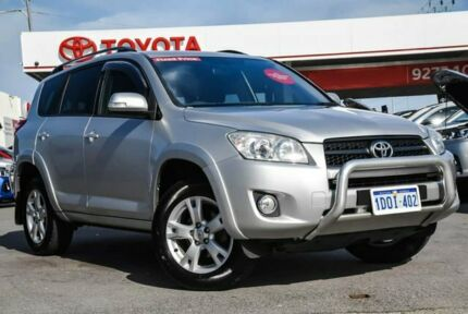 2011 Toyota RAV4 ACA33R 08 Upgrade Cruiser (4x4) Silver Pearl 4 Speed Automatic Wagon Osborne Park Stirling Area Preview