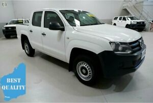 2014 Volkswagen Amarok 2H MY14 TDI420 4Motion Perm White 8 Speed Automatic Utility Kenwick Gosnells Area Preview