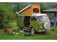 1976 VW Camper Westfalia USA import