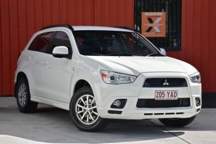 2011 Mitsubishi ASX XA MY11 2WD White 6 Speed Constant Variable Wagon Molendinar Gold Coast City Preview