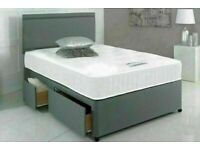 ⭐🆕BEST BUY DIVAN BEDS IN ALL SIZES WITH STORAGE OPTION HEADBOARDS AND CHOICE OF MATTRESS