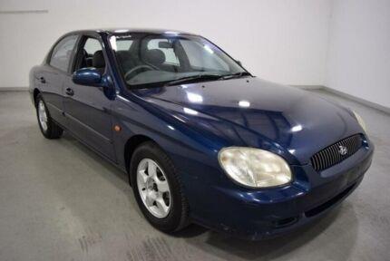 1998 Hyundai Sonata GLS Blue 4 Speed Automatic Sedan Moorabbin Kingston Area Preview