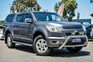 2012 Holden Colorado RG MY13 LTZ Crew Cab Grey 5 Speed Manual Utility Midvale Mundaring Area Preview
