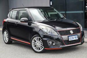 2013 Suzuki Swift FZ Sport Black 7 Speed Constant Variable Hatchback Osborne Park Stirling Area Preview