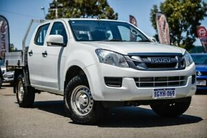 2015 Isuzu D-MAX MY15 SX Crew Cab White 5 Speed Manual Cab Chassis Midvale Mundaring Area Preview
