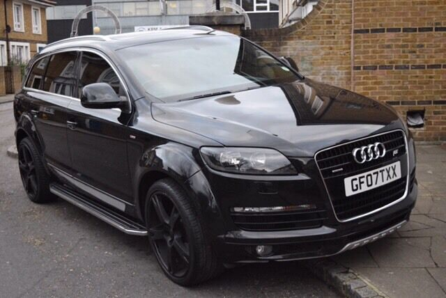 audi q7 abt as7 in bethnal green london gumtree. Black Bedroom Furniture Sets. Home Design Ideas