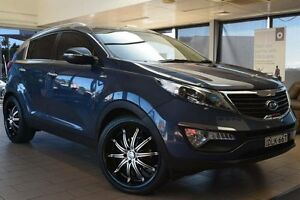 2012 Kia Sportage SL MY13 Platinum (AWD) Blue 6 Speed Automatic Wagon Belconnen Belconnen Area Preview