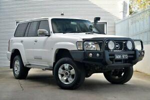2015 Nissan Patrol Y61 GU 9 ST White 5 Speed Manual Wagon Berwick Casey Area Preview