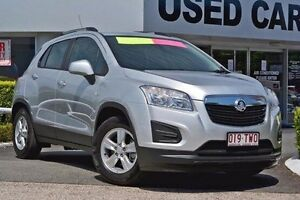 2013 Holden Trax TJ MY14 LS Silver 5 Speed Manual Wagon Taringa Brisbane South West Preview