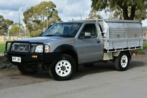 2003 Nissan Navara D22 MY2002 DX Silver 5 Speed Manual Cab Chassis Brighton Holdfast Bay Preview