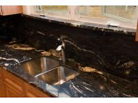 Cosmic—Black—Granite—Kitchen—Countertops—in--London