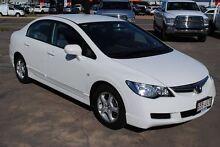 2006 Honda Civic 8th Gen VTi-L Taffeta White 5 Speed Automatic Sedan Hyde Park Townsville City Preview
