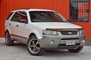2007 Ford Territory SY TX White 4 Speed Sports Automatic Wagon Molendinar Gold Coast City Preview