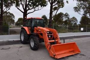 AS NEW KUBOTA M110X TRACTOR W/ QUICKE FRONT END LOADER Aldinga Beach Morphett Vale Area Preview