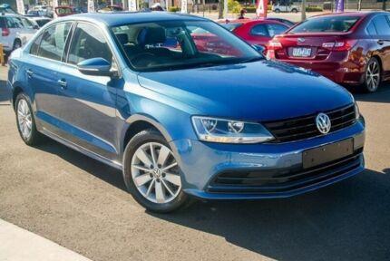 2015 Volkswagen Jetta 1B MY15 118TSI DSG Trendline Blue 7 Speed Sports Automatic Dual Clutch Sedan Nunawading Whitehorse Area Preview