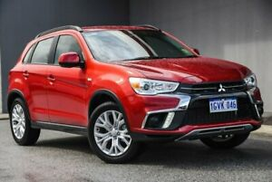 2019 Mitsubishi ASX XC MY19 ES 2WD Red 6 Speed Constant Variable Wagon Osborne Park Stirling Area Preview
