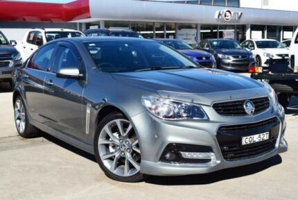 2013 Holden Commodore VF SS-V Prussian Steel Grey 6 Speed Automatic Sedan