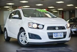2016 Holden Barina TM MY16 CD White 5 Speed Manual Hatchback Bellevue Swan Area Preview