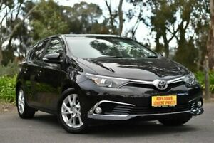 2016 Toyota Corolla ZRE182R Ascent Sport S-CVT Black 7 Speed Constant Variable Hatchback Melrose Park Mitcham Area Preview