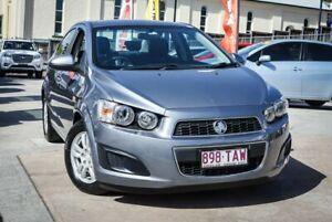 2013 Holden Barina Dark Grey 6 Speed Automatic Hatchback Ipswich Ipswich City Preview