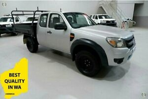 2009 Ford Ranger PJ XL White 5 Speed Manual Kenwick Gosnells Area Preview