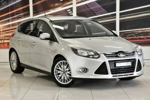 2012 Ford Focus LW Sport PwrShift Silver 6 Speed Sports Automatic Dual Clutch Hatchback
