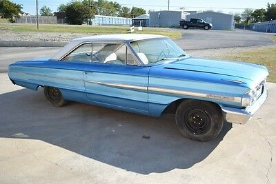 Ford : Galaxie 500 1964 Ford Galaxie 500 Project 302 V8 3 Speed Manual