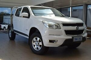 2014 Holden Colorado RG MY14 LT (4x2) Summit White 6 Speed Automatic Crew Cab P/Up Belconnen Belconnen Area Preview