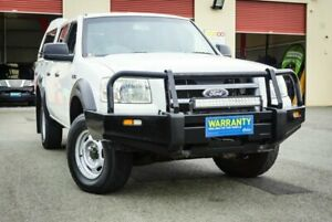 2008 Ford Ranger PJ XL Crew Cab White 5 Speed Automatic Utility Coopers Plains Brisbane South West Preview
