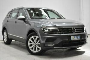 2019 Volkswagen Tiguan 5N MY19.5 110TSI Comfortline DSG 2WD Allspace Grey 6 Speed Launceston Launceston Area Preview