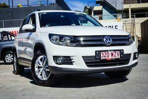 2012 Volkswagen Tiguan 5NC MY13 155 TSI (4x4) White 7 Speed Auto Direct Shift Wagon Ipswich Ipswich City Preview