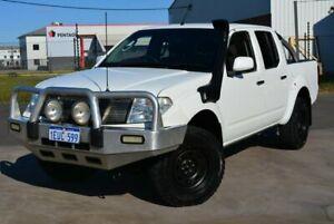 2007 Nissan Navara D40 RX (4x4) White 5 SP AUTOMATIC Dual Cab Pick-up Kewdale Belmont Area Preview