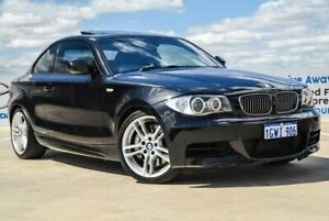 2011 BMW 1 Series E82 MY11 135i D-CT Sport Black 7 Speed Sports Automatic Dual Clutch Coupe