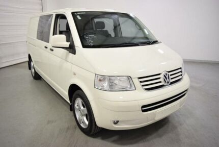2008 Volkswagen Transporter T5 MY08 Crewvan (SWB) White 6 Speed Tiptronic Van Oakleigh Monash Area Preview