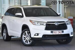 2014 Toyota Kluger GSU50R Grande White Sports Automatic Indooroopilly Brisbane South West Preview