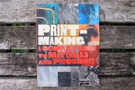 Brand New Book about Print Making