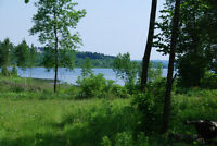 1.4 acres treed lot 290' on Georgian Bay N of Penetanguishene