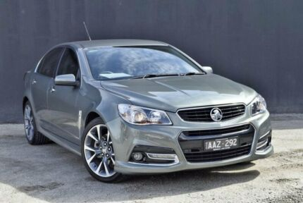 2014 Holden Commodore VF MY14 SS V Prussian Steel 6 Speed Sports Automatic Sedan