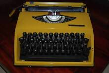 VINTAGE RETRO YELLOW ADLER TIPPA PORTABLE TYPEWRITER Carindale Brisbane South East Preview