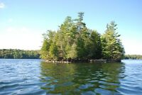 Beautiful Island on Devil Lake