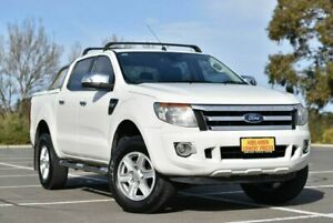 2015 Ford Ranger PX MkII XLT Double Cab 4x2 Hi-Rider White 6 Speed Sports Automatic Utility Enfield Port Adelaide Area Preview