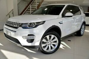 2015 Land Rover Discovery Sport L550 SD4 HSE White Sports Automatic Berwick Casey Area Preview